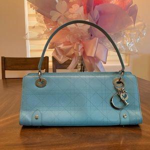 Christian Dior East West Handbag Shoulder Bag blue